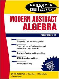 Schaum's Outline of Modern Abstract Algebra - Frank Ayres - cover