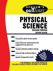 Schaum's Outline of Physical Science - Arthur Beiser - cover
