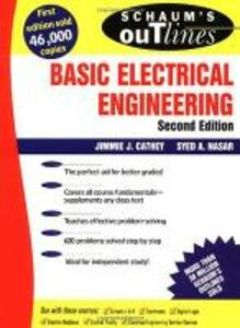 Schaum's Outline of Basic Electrical Engineering - Jimmie J. Cathey,Syed A. Nasar - cover
