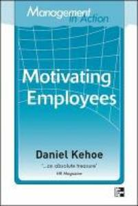 Management in Action: Motivating Employees - Daniel Kehoe - cover