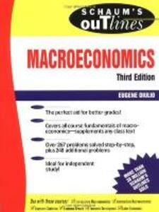 Schaum's Outline of Macroeconomics - Eugene A. Diulio - cover
