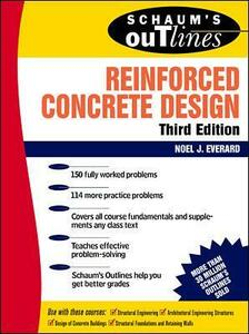 Schaum's Outline of Reinforced Concrete Design - Noel J. Everard - cover