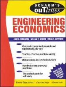 Schaums Outline of Engineering Economics - Jose A. Sepulveda - cover