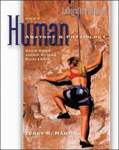 Hole's Human Anatomy and Physiology - Terry R. Martin - cover