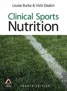 Clinical sports nutrition - Louise Burke - copertina