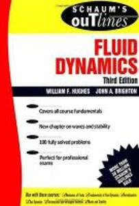 Schaum's Outline of Fluid Dynamics - William F. Hughes,Nicholas Winowich - cover