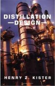 Distillation Design - Henry Z. Kister - cover
