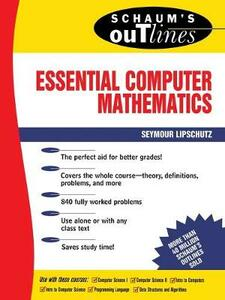 Schaum's Outline of Essential Computer Mathematics - Seymour Lipschutz - cover