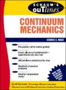 Schaum's Outline of Continuum Mechanics - George E. Mase - cover