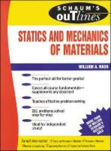 Schaum's Outline Of Statics and Mechanics of Materials - William Nash - cover