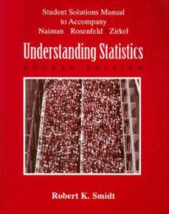 Understanding Statistics - Arnold Naiman - cover