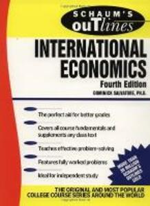 Schaum's Outline of International Economics - Dominick Salvatore - cover