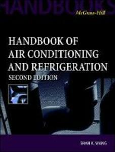 Handbook of Air Conditioning and Refrigeration - Shan Wang - cover