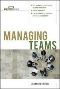 Managing Teams - Lawrence Holpp - cover
