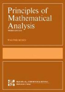 Libro Principles of mathematical analysis Walter Rudin
