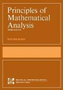 Principles of mathematical analysis - Walter Rudin - copertina
