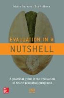 Evaluation in a nutshell - Adrian Bauman - copertina