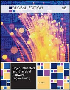 Object-Oriented and Classical Software Engineering - Stephen R. Schach - cover