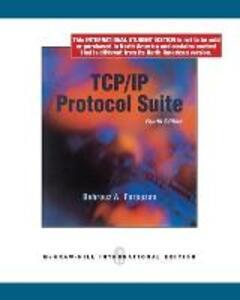 TCP/IP Protocol Suite - Behrouz A. Forouzan - cover