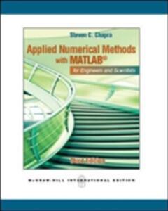Applied Numerical Methods W/MATLAB (Int'l Ed) - Steven C. Chapra - cover