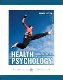 Health psychology - Shelly E. Taylor - copertina