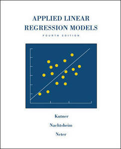Applied Linear Regression Models Revised Edition with Student CD-Rom - Nachtsheim,Kutner - cover