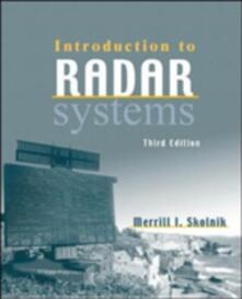 Introduction to radar systems - Merrill I. Skolnik - copertina
