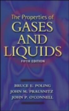 The Properties of gases and liquids - Bruce Poling - copertina