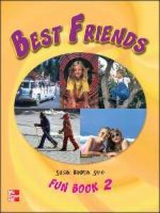 BEST FRIENDS FUN BOOK 2 - Susan Banman Sileci - cover
