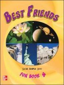 BEST FRIENDS FUN BOOK 4 - Susan Banman Sileci - cover
