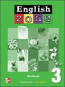 ENGLISH ZONE WORKBOOK 3 - Margarita Prieto - cover