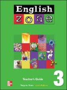 ENGLISH ZONE TEACHER'S EDITION 3 - Margarita Prieto - cover