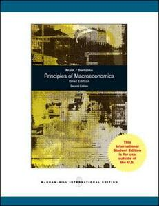 Principles of Macroeconomics, Brief Edition - Robert H. Frank,Ben Bernanke - cover