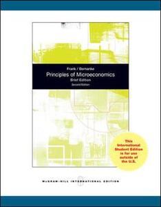 Principles of Microeconomics, Brief Edition - Robert H. Frank,Ben Bernanke - cover