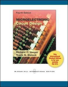 Microelectronic circuit design - Richard C. Jaeger,Travis N. Blalock - copertina