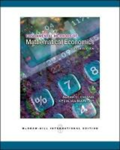 Libro Fundamental method of mathematical economics C. Chiang Alpha