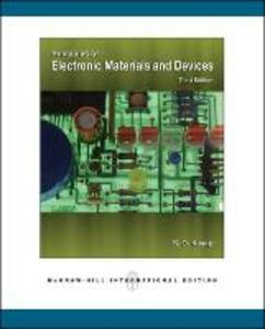 Principles of Electronic Materials and Devices (Int'l Ed) - Safa O. Kasap - cover