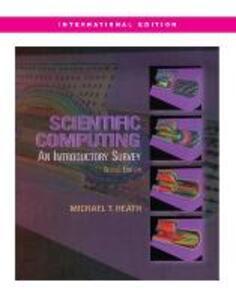 SCIENTIFIC COMPUTING 2E (Int'l Ed) - Michael T. Heath - cover