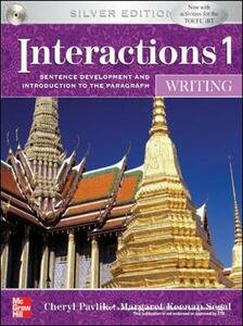 INTERACTIONS MOSAIC 5E WRITING STUDENT BOOK (INTERACTIONS 1) - Cheryl Pavlik - cover