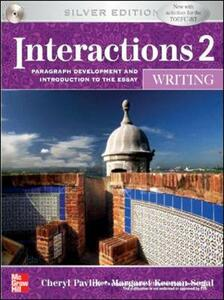 INTERACTIONS MOSAIC 5E WRITING STUDENT BOOK  (INTERACTIONS 2) - Cheryl Pavlik - cover