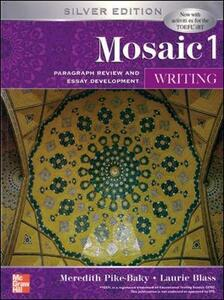 INTERACTIONS MOSAIC 5E WRITING STUDENT BOOK (MOSAIC 1) - Meredith Pike-Baky - cover