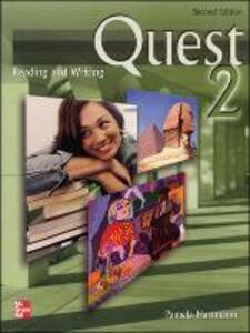 QUEST: READING AND WRITING STUDENT BOOK 2 - Blass - cover