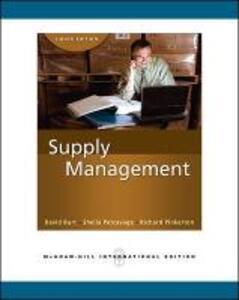 Supply Management (Int'l Ed) - David N. Burt,Sheila D. Petcavage,Richard L. Pinkerton - cover
