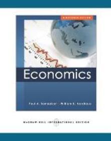 Economics - Paul A. Samuelson,William D. Nordhaus - copertina