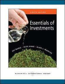 Essentials of investements - Bodie - copertina