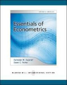 Essentials of econometrics - Damodar N. Gujarati - copertina