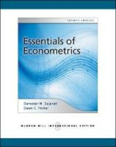 Libro Essentials of econometrics Damodar N. Gujarati