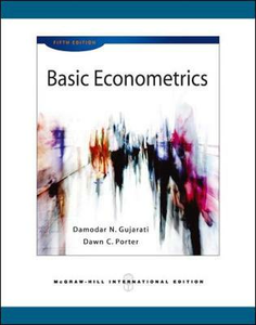 Libro Basic econometrics Damodar N. Gujarati