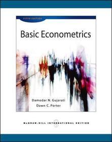 Basic econometrics - Damodar N. Gujarati - copertina