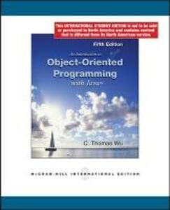 An Introduction to Object-Oriented Programming with Java (Int'l Ed) - C.Thomas Wu - cover